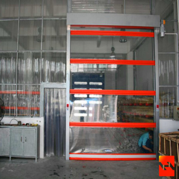Transparent PVC High Speed Door