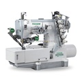 Direct Drive Flatbed Interlock Sewing Machine with Top and Bottom Thread Trimmer