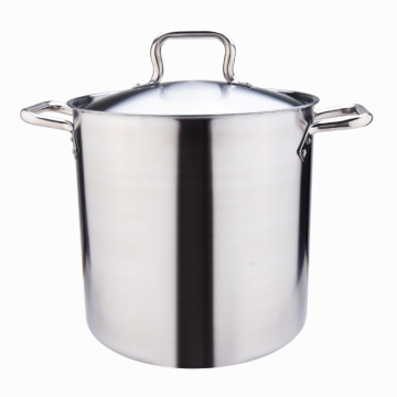 18-8 Triple-Ply bottom Stainless Steel Stockpot with Lid