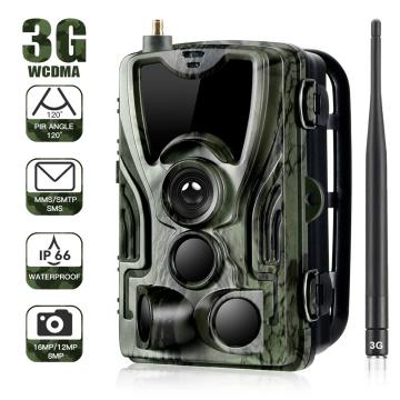 HC - 801G 3G Multiple Hunting Camera 16MP 1080P Full HD Videos Trail Camera 0.3 second trigger speed Infrared LED Cameras