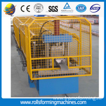 Round and Square Rain Gutter roll forming machine