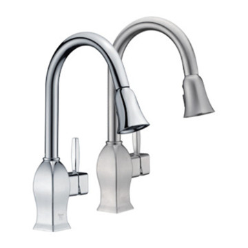 Modern Design Pull-Down Kitchen Faucet