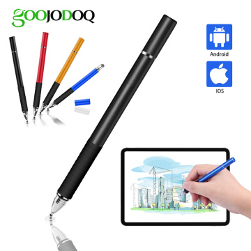 Universal Stylus Pen, GOOJODOQ 2 in 1 Touch Screen Pen for All iPad Pencil iPhone Huawei Stylus Android Xiaomi for Apple Pencil