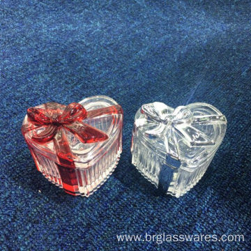 Luxury New Developed Glass Ribbon Trinket Box
