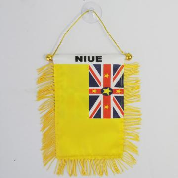 New arrival customized printed football hanging flag