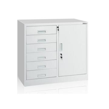 Steel Office storage file cupboard with drawers