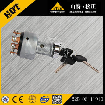PC400-8 Excavator Ignition Starter Switch 22B-06-11910