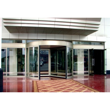 Classic Three-wing Revolving Doors with Windproof Function