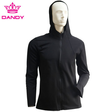 Cheap blank zip up jacket with hood