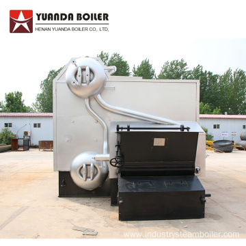 Biomass Pellet Fired Steam Boiler for Textile Dyeing