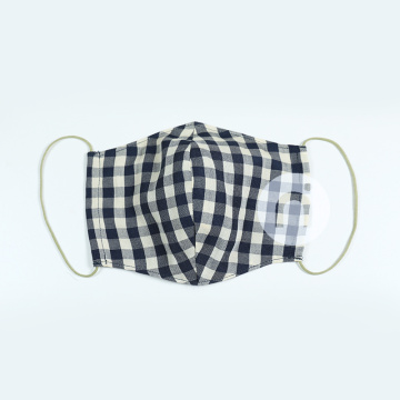 CHECK FASHION TEXTILE MASK