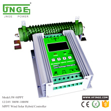 JNGE Power MPPT wind solar hybrid charge controller,wind turbine charger with free dumpload resistor,boost charging,high quality