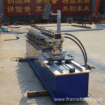 Aluminum angle cutting steel machine