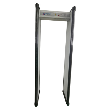 multi-zone walk through metal detector