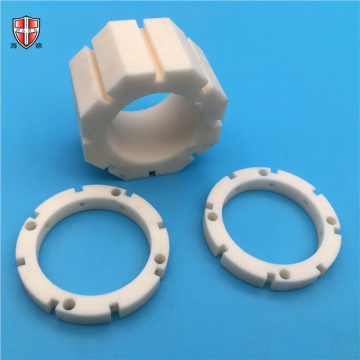 precision cnc alumina ceramic bearing sleeve ring
