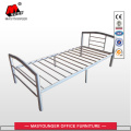 Black Single Mash Metal Bed