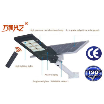 IP65 led Intergrated Proposal for Solar Street Light