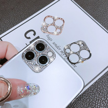 Bling Metal Glitter Phone Camera Lens Protection Case For IPhone 11 Pro Max iphone11 iphone 11Pro Camera Lenses Protector Cover
