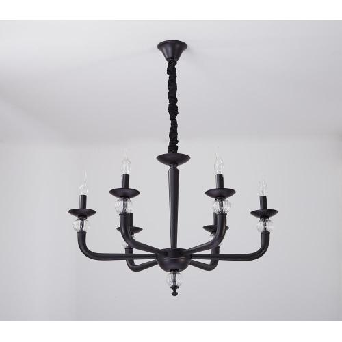 American Style Living Room Home Decorating Iron Chandelier