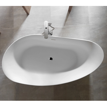 Freestanding Soaker Bathtub for Adults
