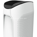 smart air purifier in room