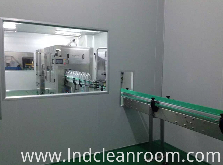 Thailand beverage factory cleaning room