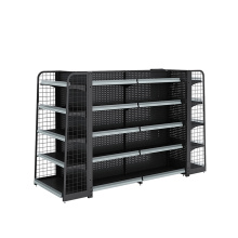 Supermarket Backnet And Backhole Display Rack