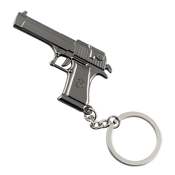Fashion Metal Key Chain Exquisite Gun Shape Style