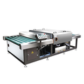 High efficiency Horizontal Glass washer for glass cleaning
