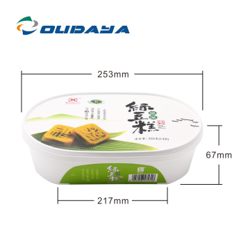Good quality Tamper Evident PP plastic container