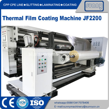 Thermal BOPP Film Ekstrudiranje Lamination Machine
