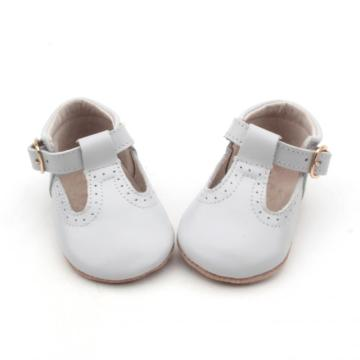 2018 Leather Baby Dress Shoes T-bar breathable Shoes