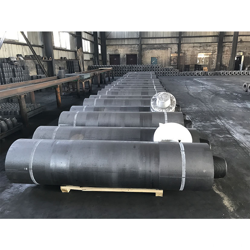 HP 450 Graphite Electrode with Nipples Steel Plant