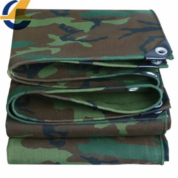 Heat-sealed edges polyester canvas tarps