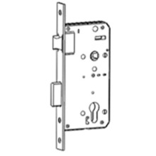 Immediate egress mortise lock