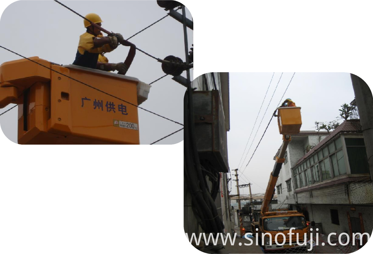 Application Demonstration (2) of SINOFUJI Overhead Line Cover