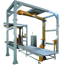Fully-auto rotary arm stretch wrapping machine