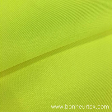 High visibility Polyester Twill Gabardine Fabric