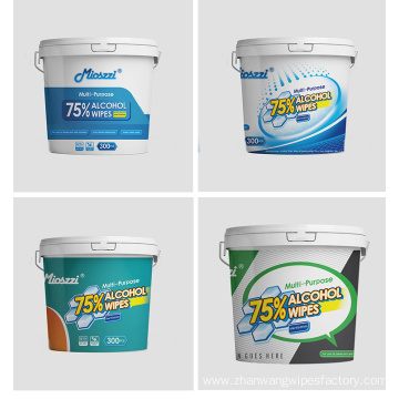Spunlace Material Cleaning Use Gym Disinfectant Wipes