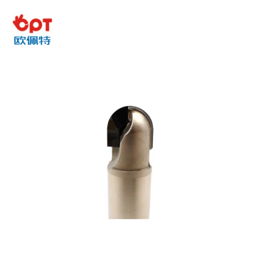 PCD wood flute router planing bit groove