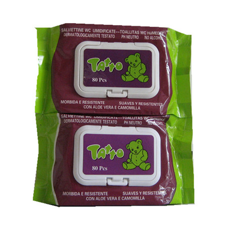 Toilet 80ct Toilet Tissue Wet Wipes