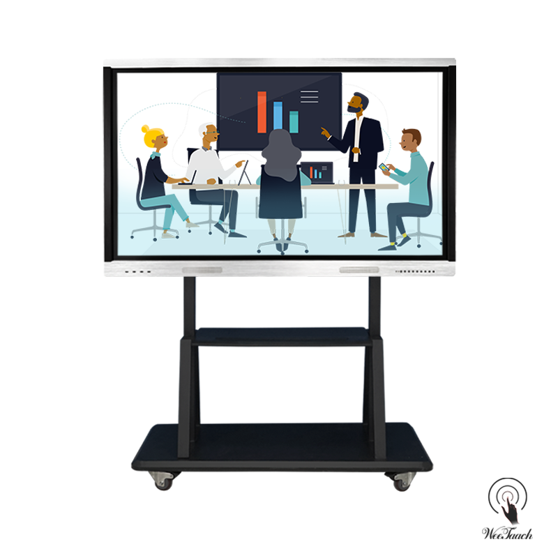 75 Inches All-In-One Touchboard with mobile stand