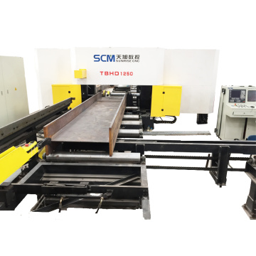 Steel Structure Building H Beam Drilling Machine
