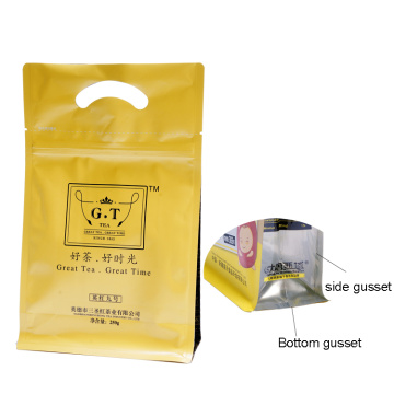 Aluminium Zipper Tea Bag Packaging