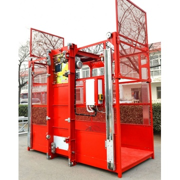 High safety factor construction elevator building hoist