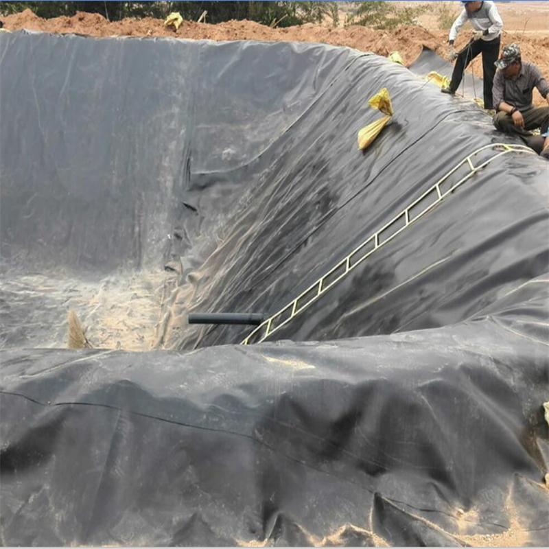 hdpe geomembrane construction