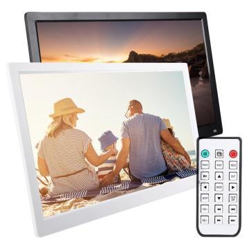 XCLT-1730IPS 17.3inch HD Screen Digital Photo Frame Electronic Album Movie Player AC100-240V