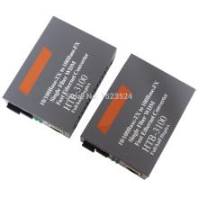 Htb-3100ab Optical Fiber Media Converter Fiber Transceiver Single Fiber Converter 25km SC 10/100M Singlemode Single Fiber