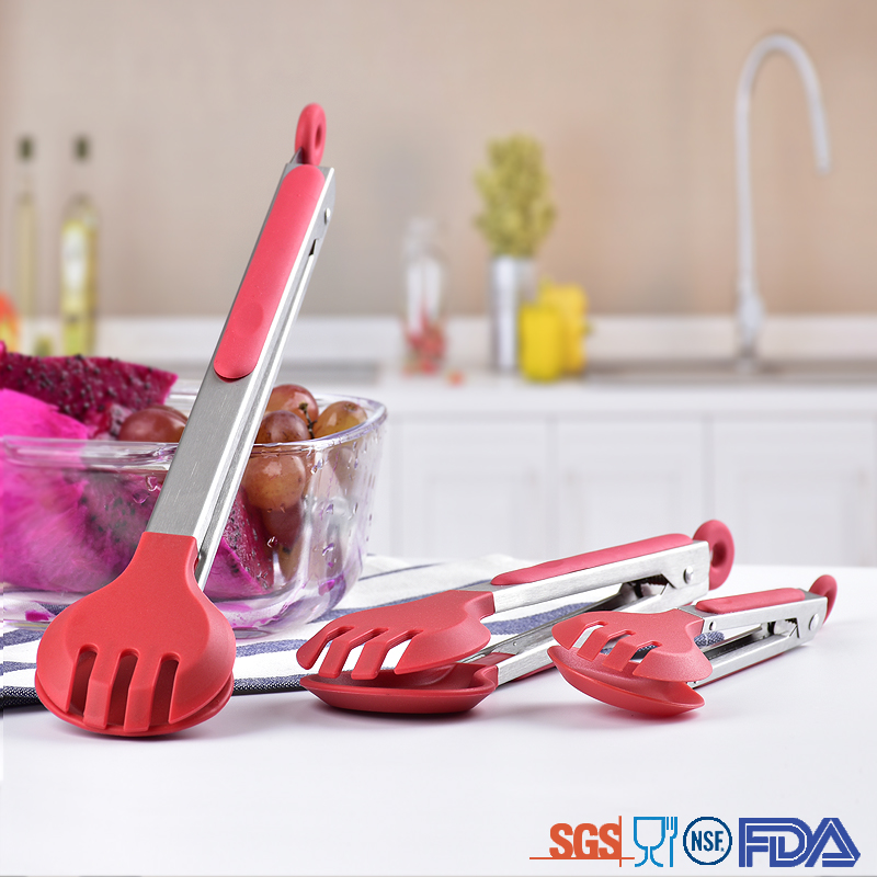 Kitchen Silicone Tong