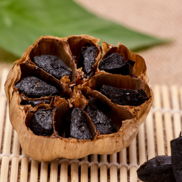 Aged Black Garlic For Delicious Food